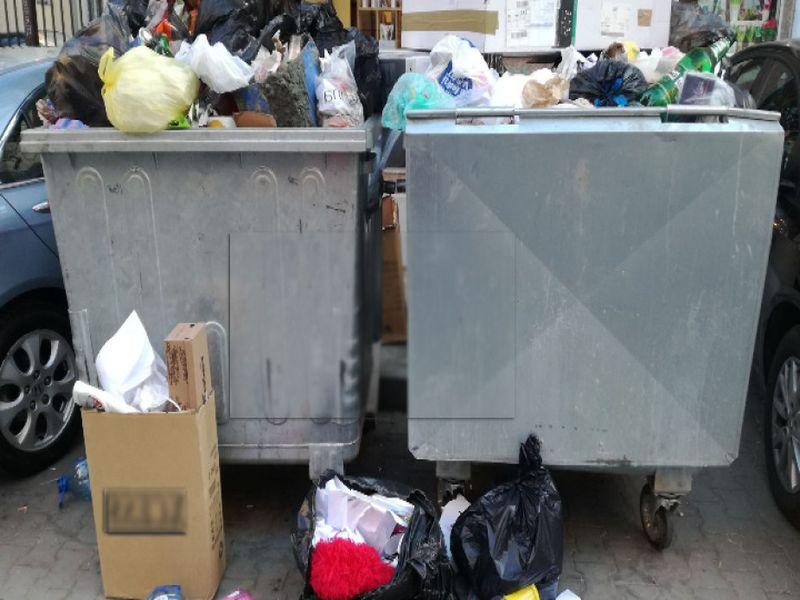 Фирма за почистване не извозва боклука в София
