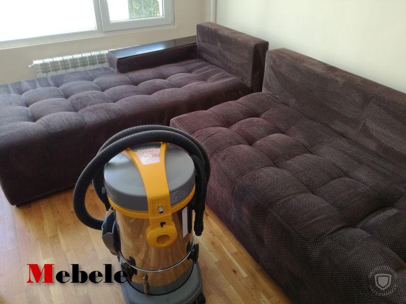 Машинно пране на мека мебел