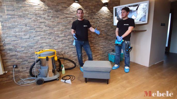 Ален Младенов и Стефан Николов обясняват как се пере диван