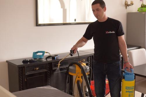 Почистваща услуга - Обезмирисяване на дамаски